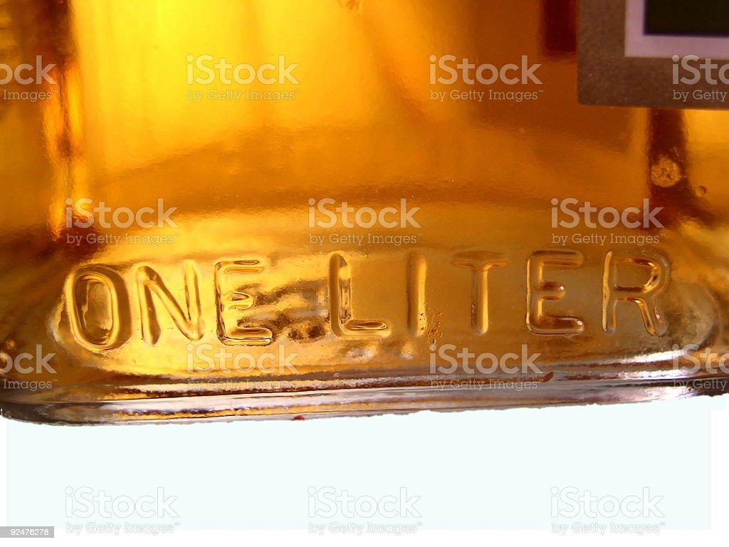 Alcoholic Beverage Bottle royalty-free stock photo