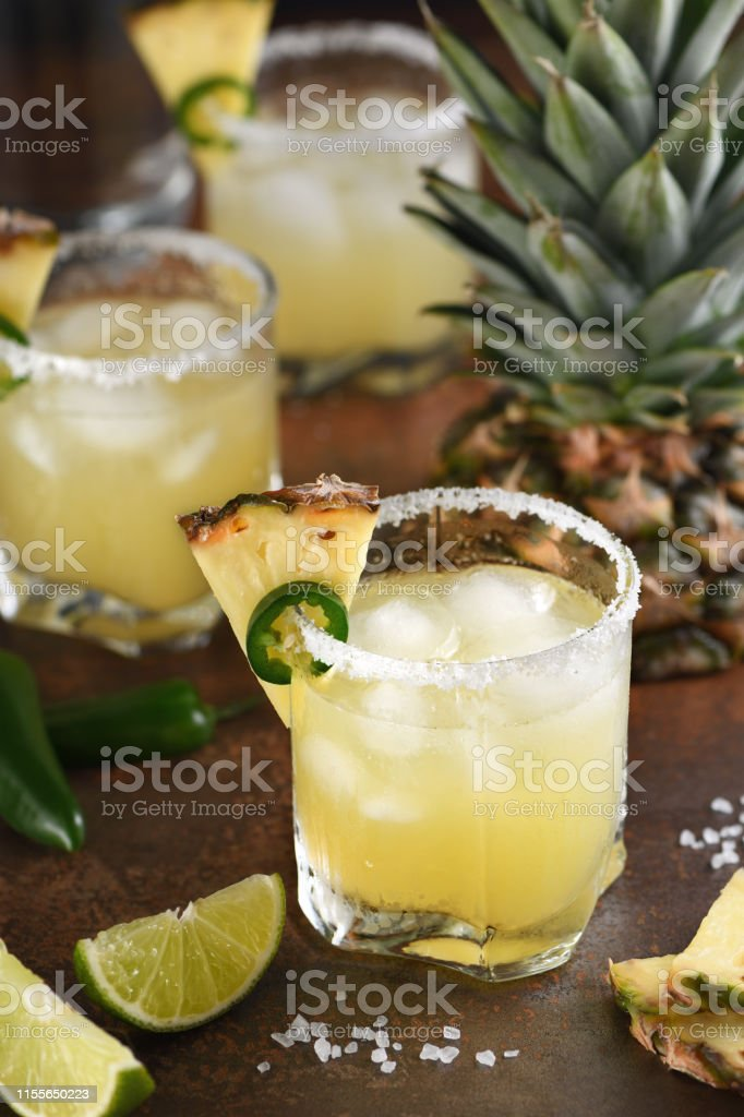 Alcoholic Cocktail Pineapple Margarita Tequila With Lime And Jalapeno Stock Photo Download Image Now Istock,White Russian Drink Costume