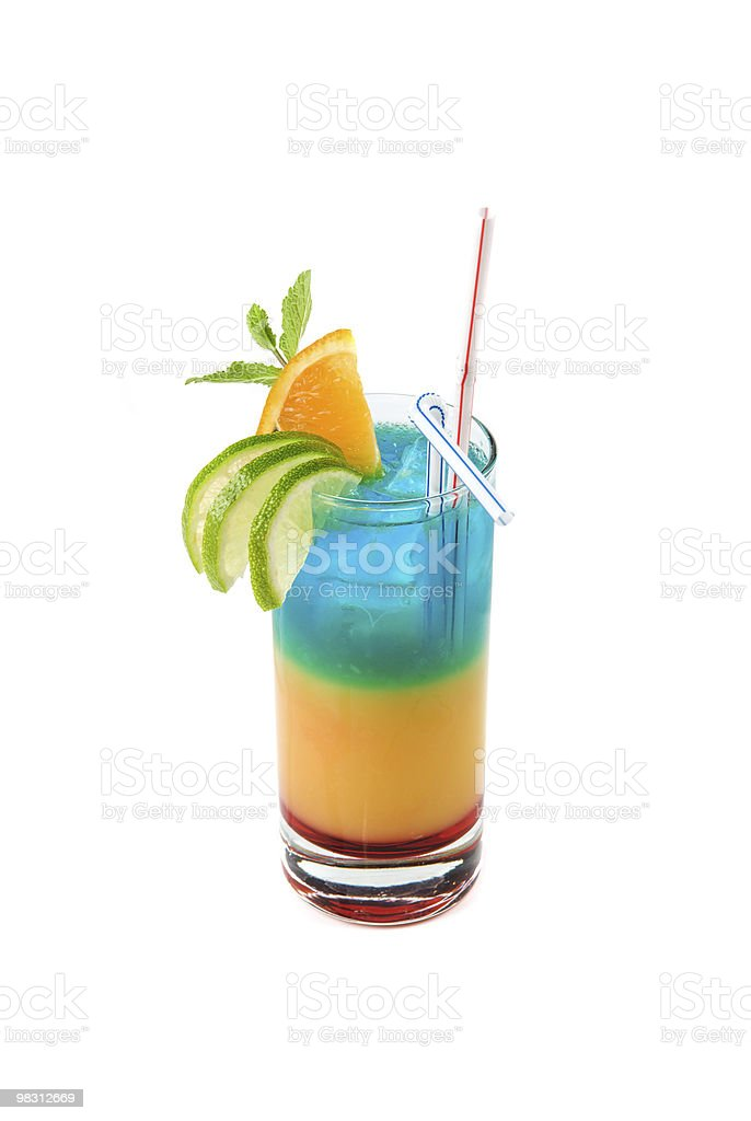 Alcoholic cocktails royalty-free stock photo