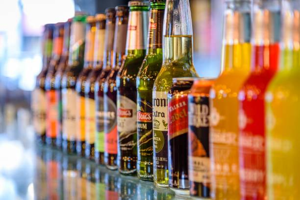 Alcoholic Drinks - foto stock