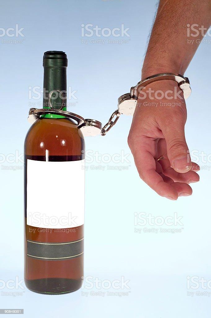 Alcoholic royalty-free stock photo