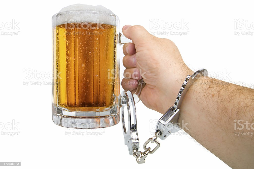 Alcoholism Concept royalty-free stock photo