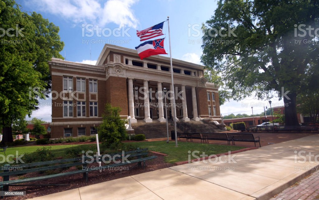 Alcorn County Courthouse - Royalty-free Fotografie Stockfoto