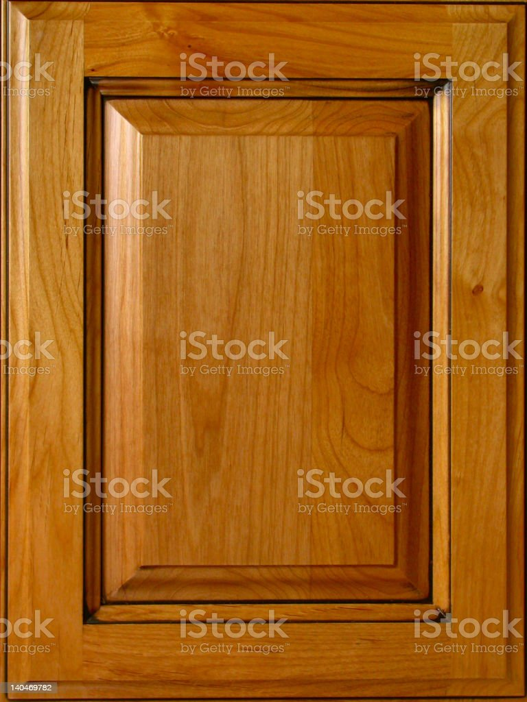 Alder Cabinet Door stock photo
