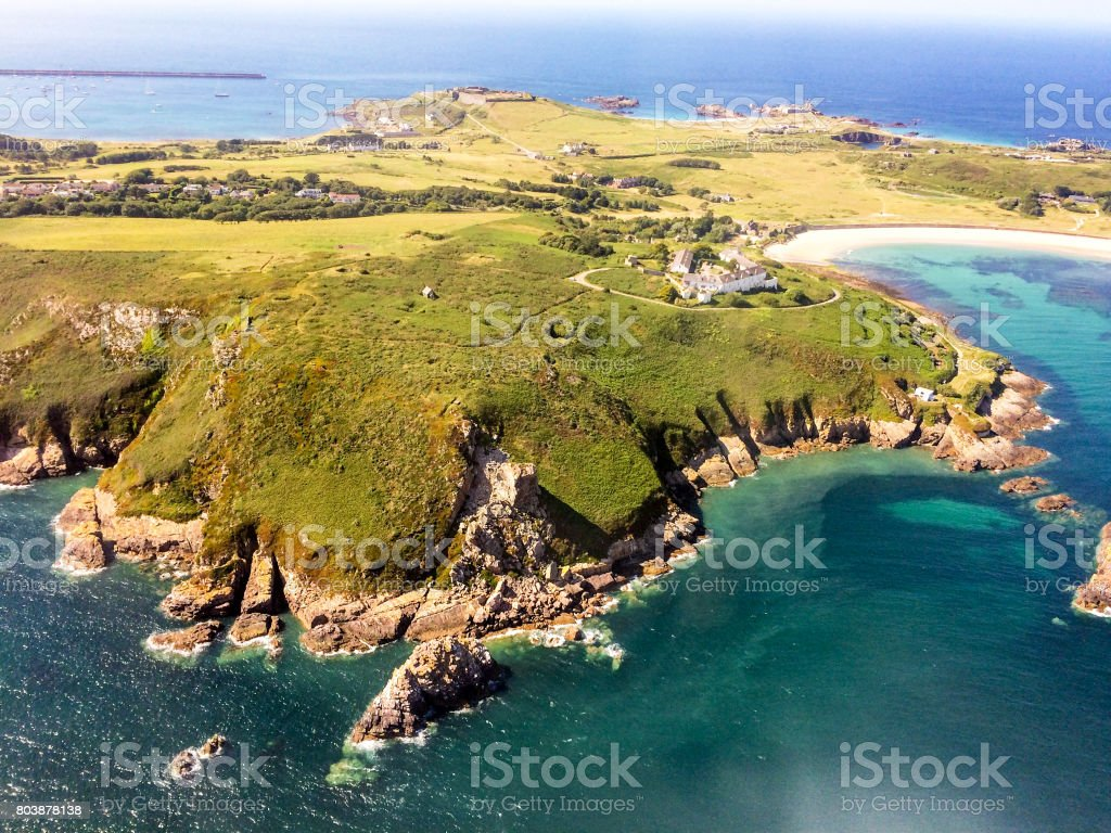 Alderney, Channel Islands stock photo