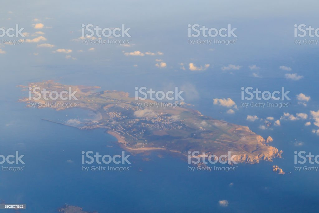 Alderney Channel Islands stock photo