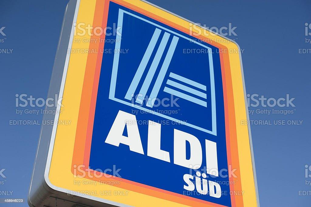 Aldi logotipo - foto de stock