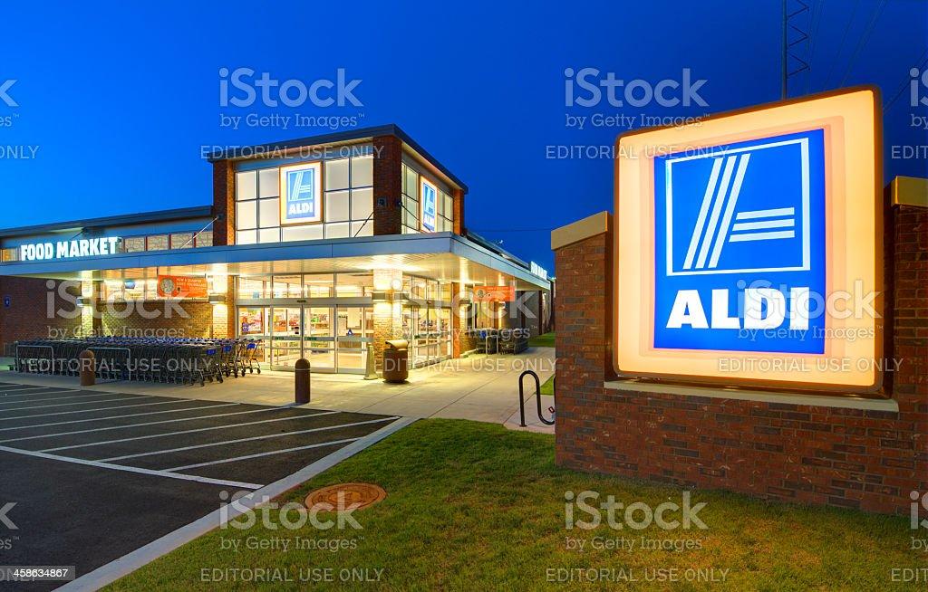 Aldi - foto de stock