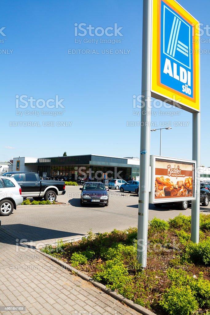 Aldi Süd supermercado - foto de stock