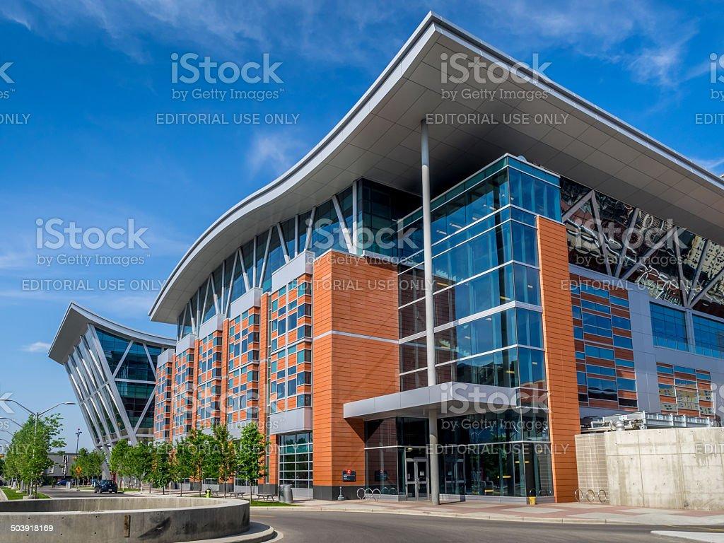 Aldred Centre, SAIT stock photo
