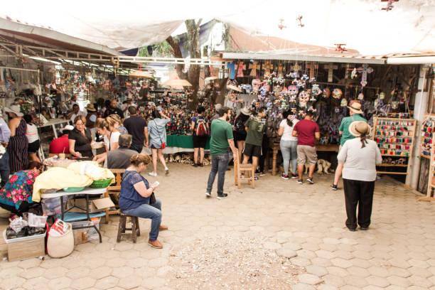 Taller de alebrijes en Oaxaca México - foto de stock