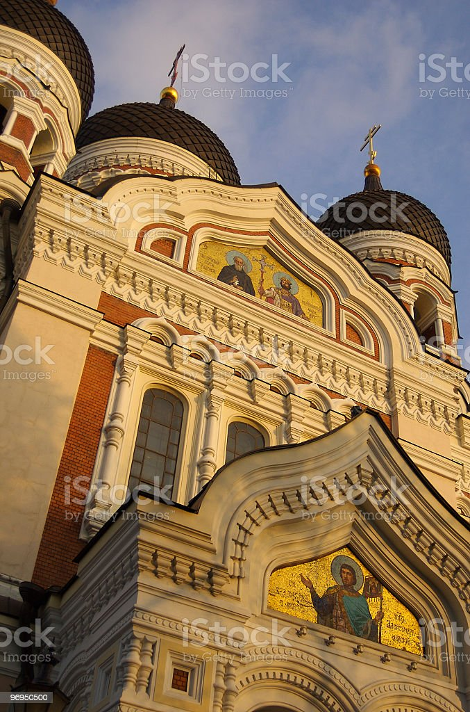 Aleksander Nevsky Cathedral, Toompea, Tallinn, Estonia royalty-free stock photo