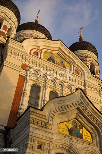 Aleksander Nevsky Cathedral Toompea Tallinn Estonia Stock Photo & More Pictures of Cathedral