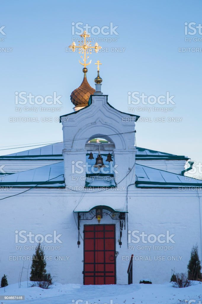 Aleksandrovskaya sloboda, Golden Ring of Russia stock photo