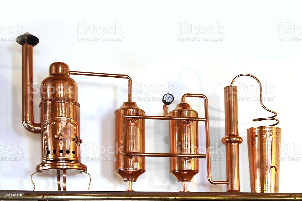 Alembic cobre - foto de stock