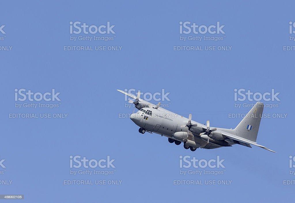 HAF Alenia C-27J Spartan medium-sized transport aircraft stock photo
