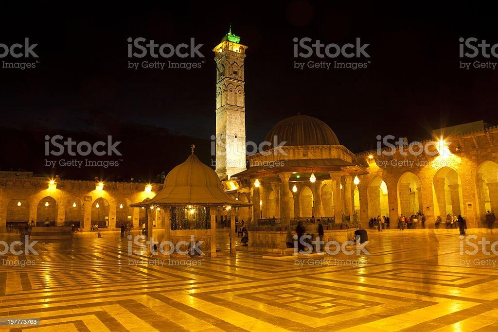 aleppo mosque stock photo
