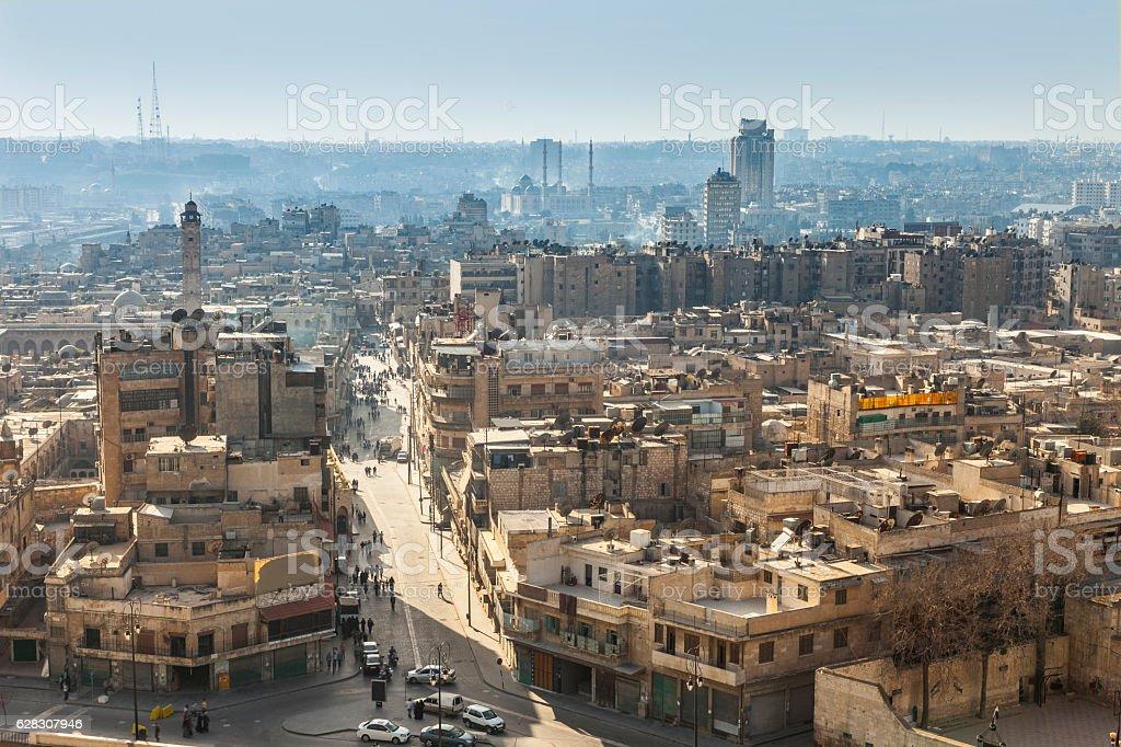 Aleppo stock photo