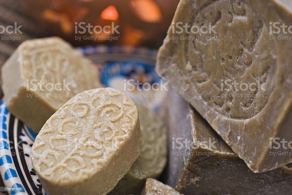 Aleppo soap stock photo