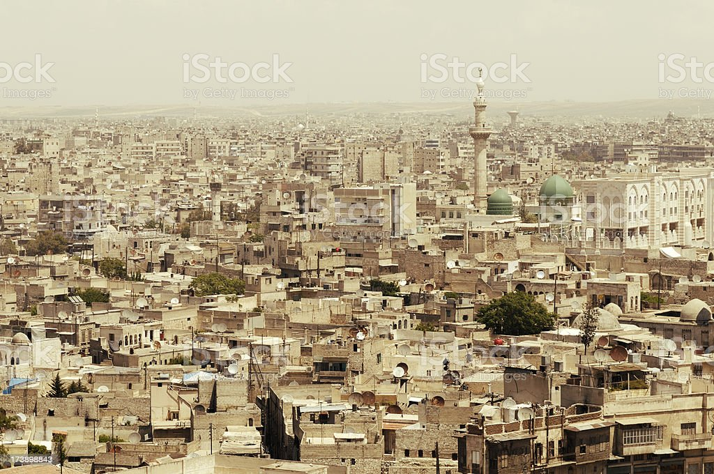 Aleppo, Syria stock photo