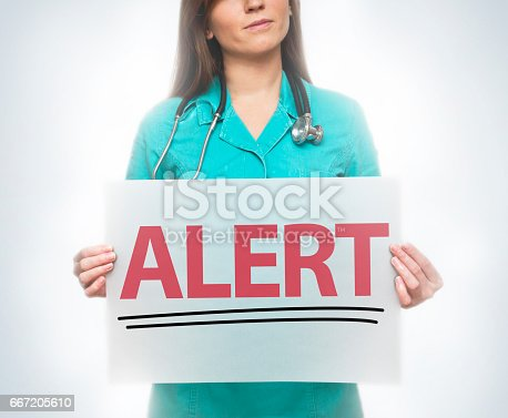 istock Alert / Healthcare concept (Click for more) 667205610