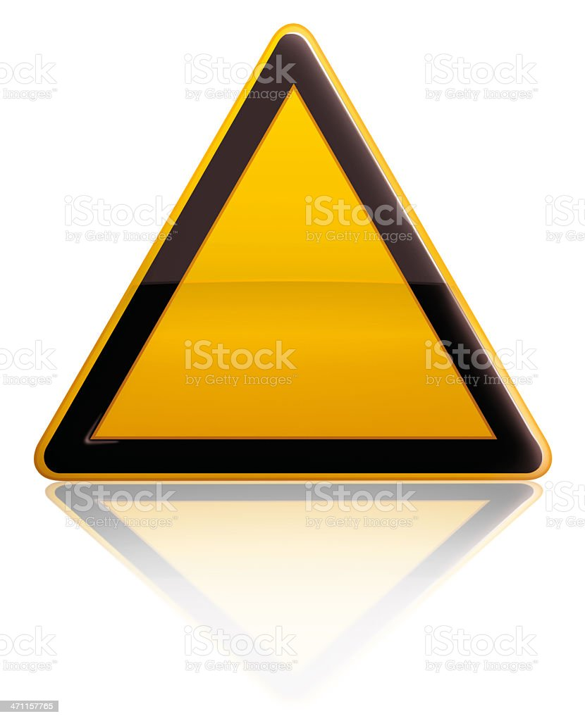 Alert Sign royalty-free stock photo