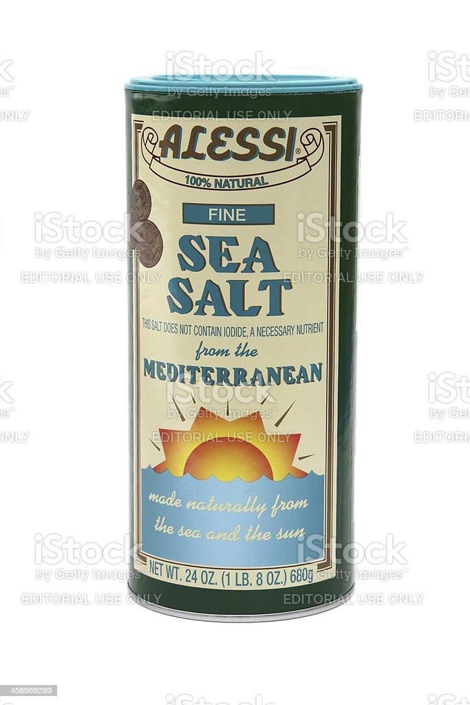 Alessi Sea Salt royalty-free stock photo