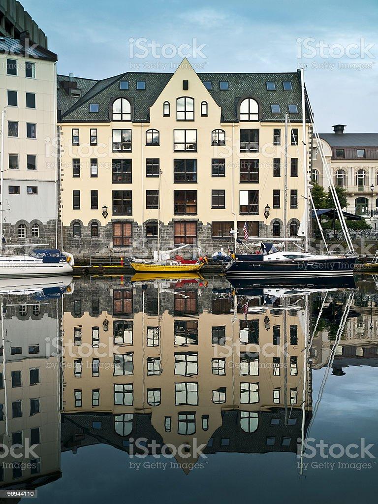 Alesund Architecture royalty-free stock photo
