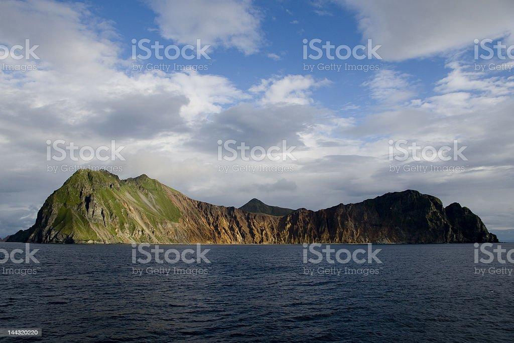 Aleutian island #1 stock photo