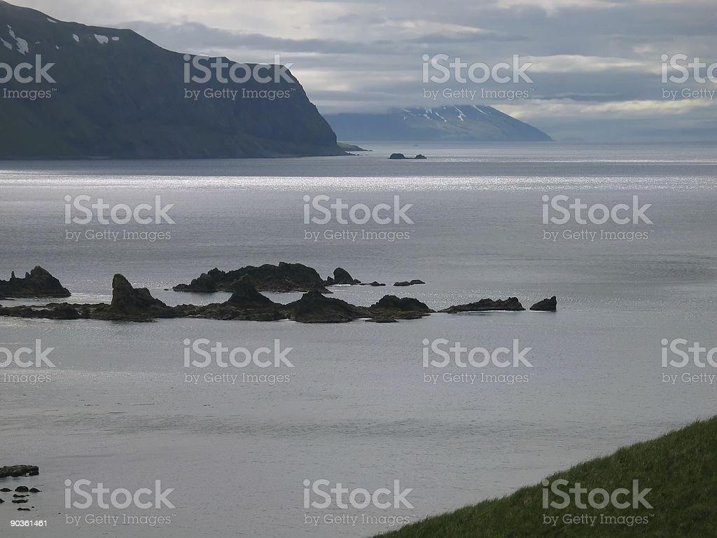 Aleutian Islands stock photo