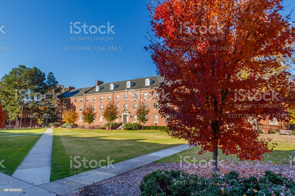 Alexander Hall At Nc State University Stock Photo - Download