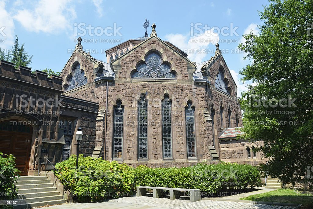 Alexander Hall in Princeton University stock photo