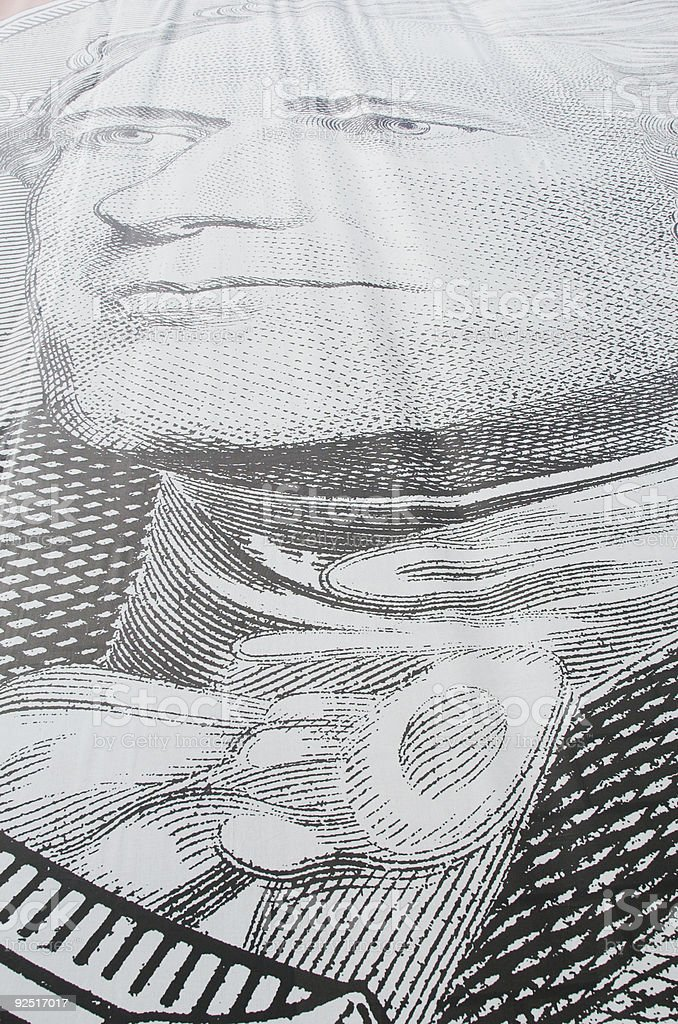 Alexander Hamilton royalty-free stock photo
