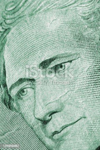 istock Alexander Hamilton - U.S. Ten Dollar Bill 125959462