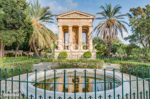 istock Alexander John Ball monument in Valletta, Malta 185532934