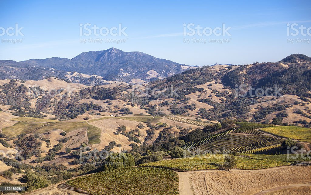 Alexander Mountain Estate stock photo