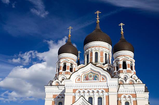 alexander-newski-kathedrale - russisch orthodoxe kirche stock-fotos und bilder