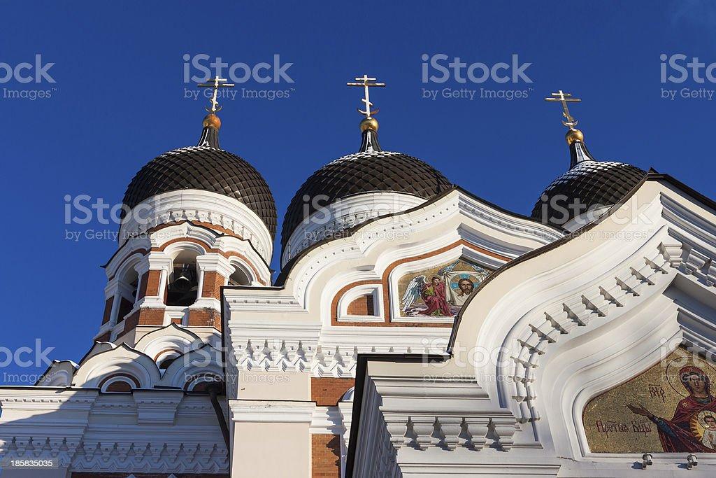Alexander Nevsky Cathedral stock photo