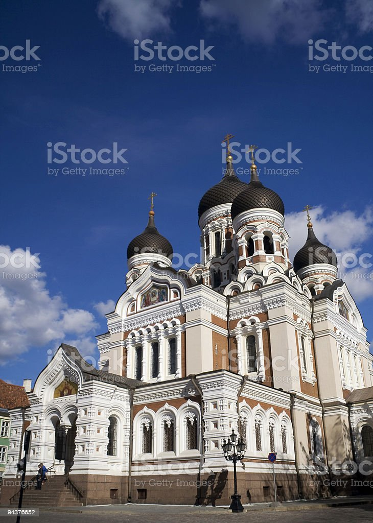 Alexander Nevsky Cathedral royalty-free stock photo