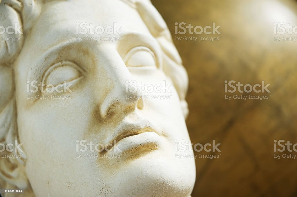 Alexandre o Grande busto - foto de acervo