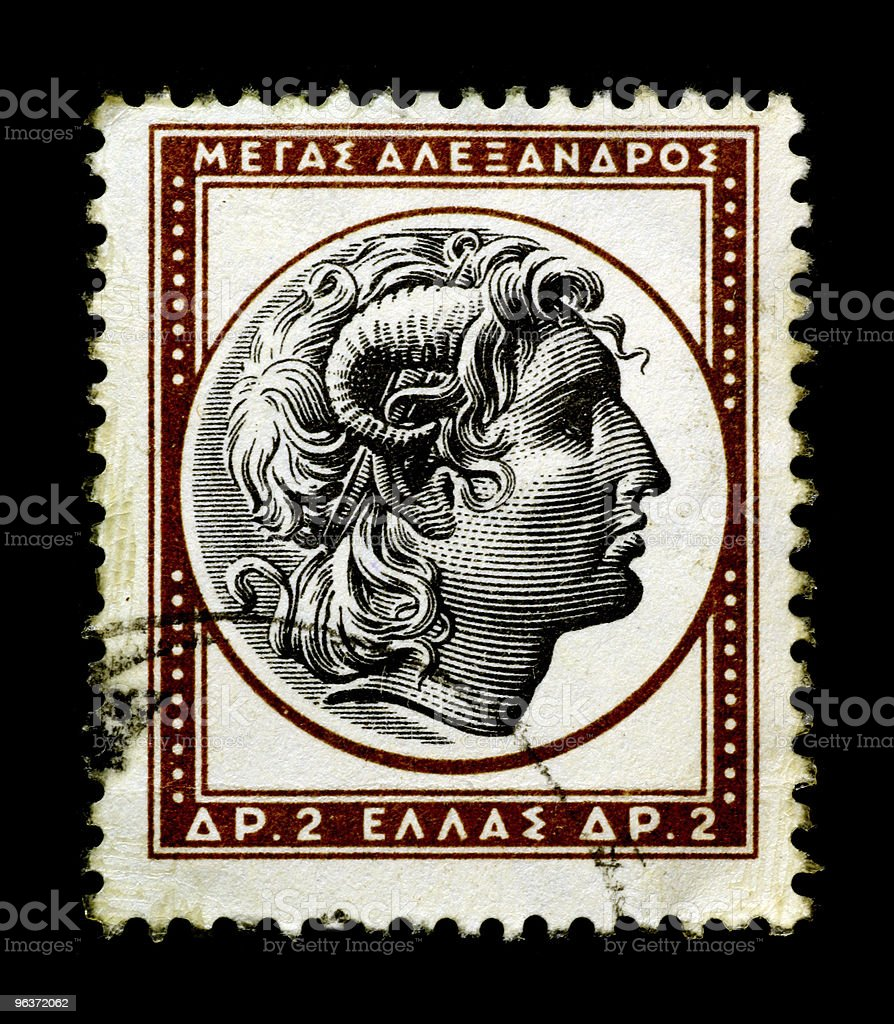 Alexander The Great stock photo