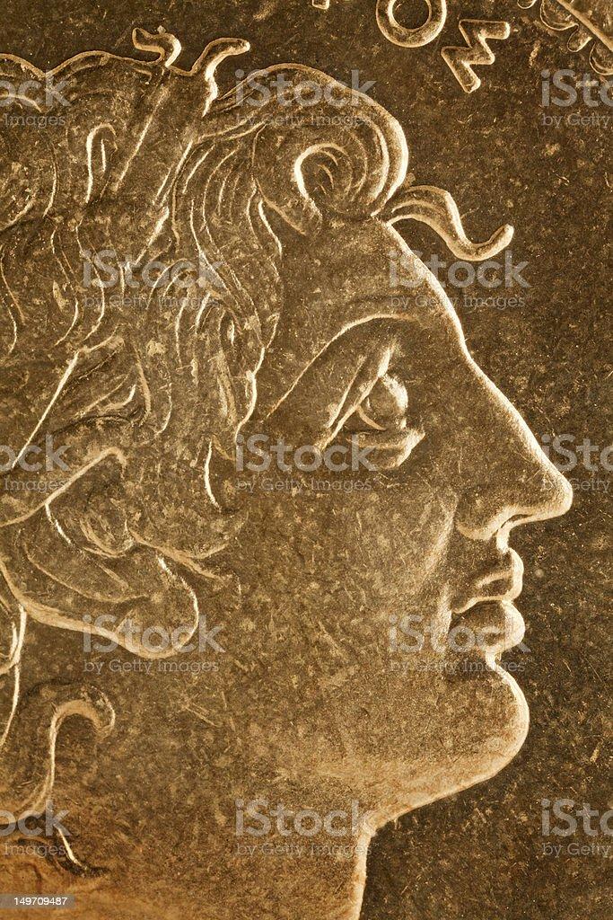 Alexandre o Grande Retrato - foto de acervo