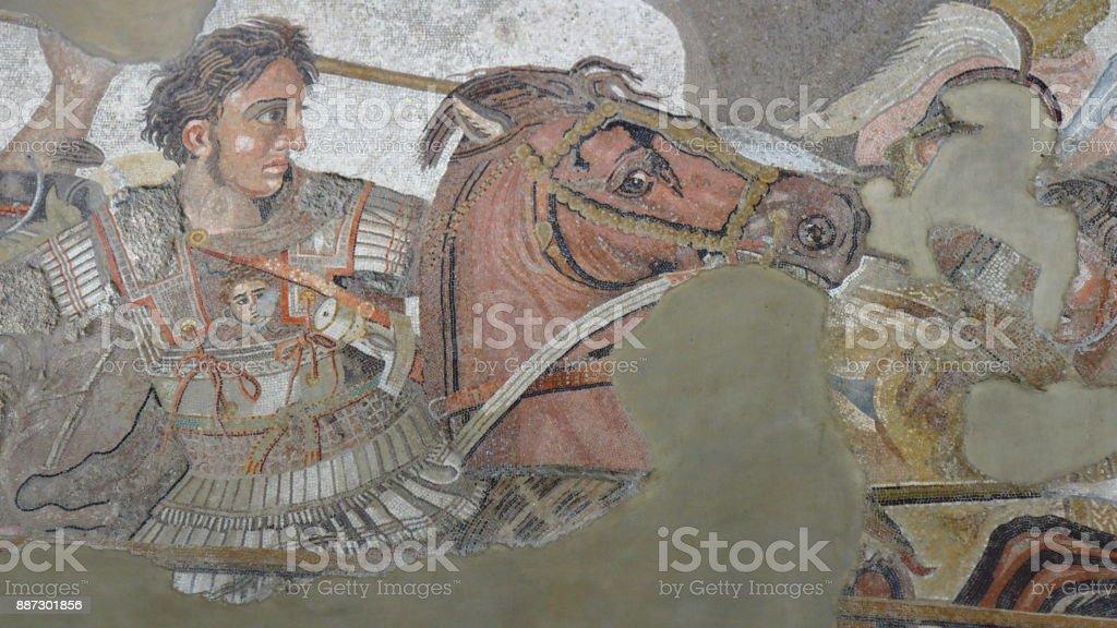 Alexandre, o grande contra Darius - foto de acervo