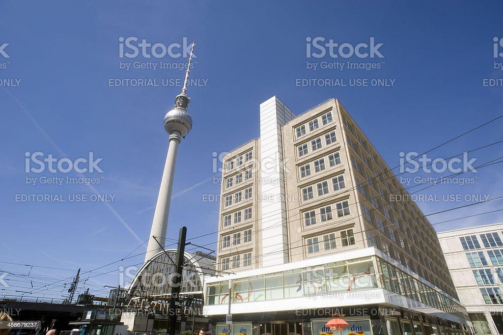 Alexanderplatz, Berlin, Germany. royalty-free stock photo