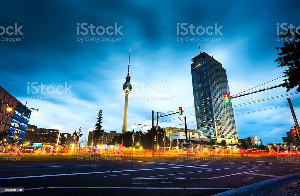 Alexanderplatz - Berlin stock photo