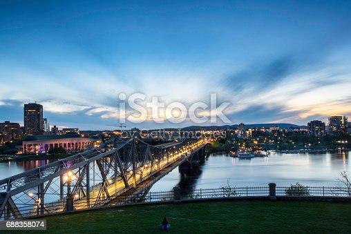 istock Alexandra Bridge in the evening 688358074
