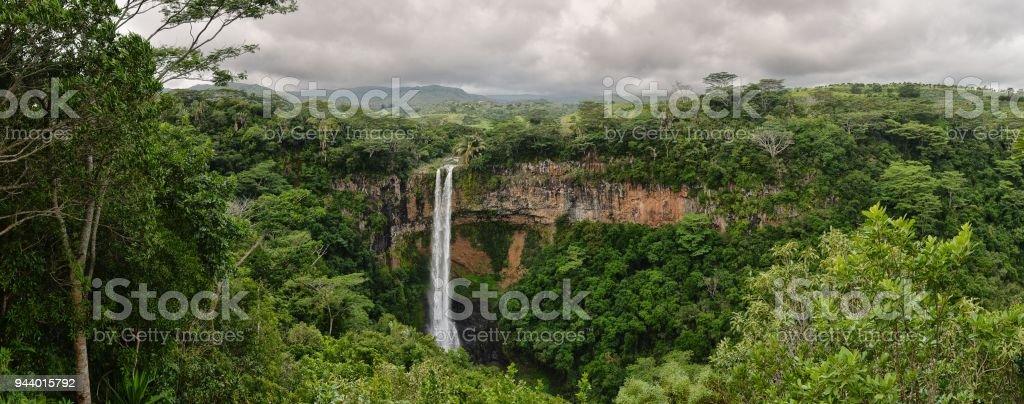 Alexandra Falls Mauritius stock photo