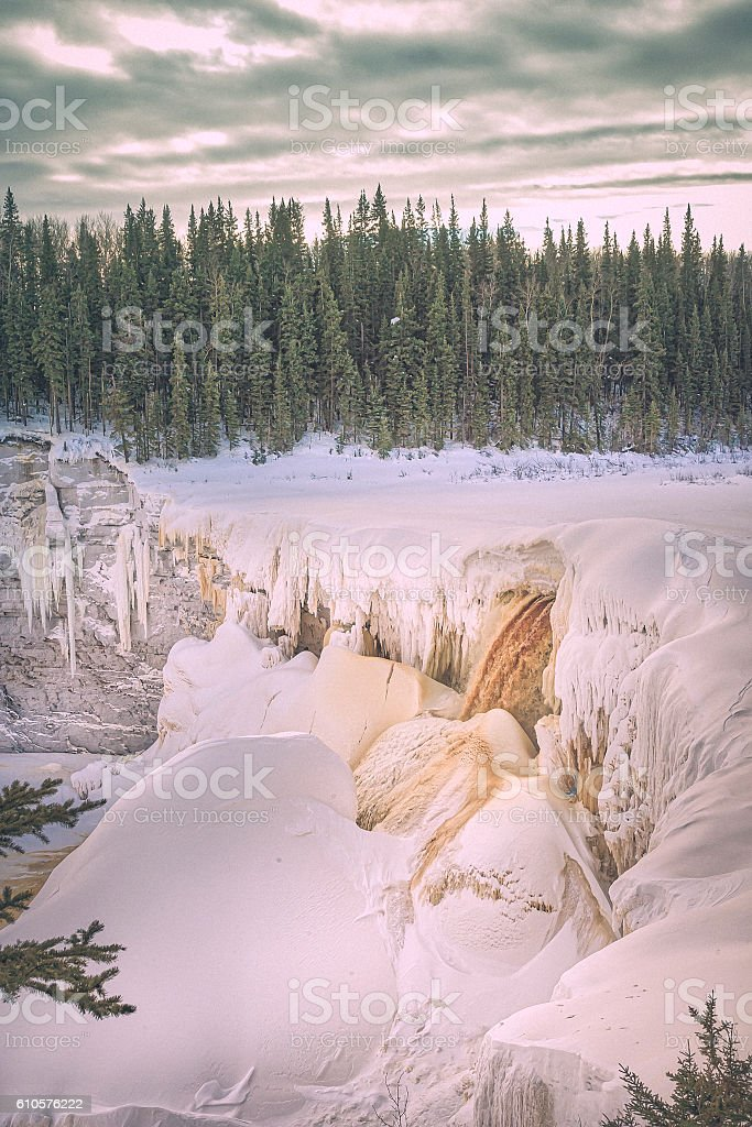 Alexandra Falls stock photo