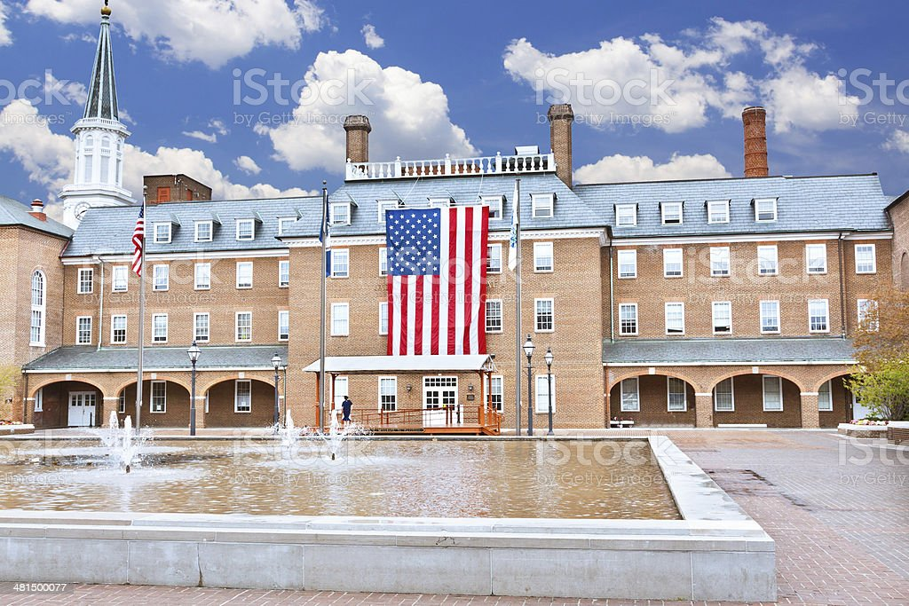 Alexandria City Hall, Virginia. stock photo