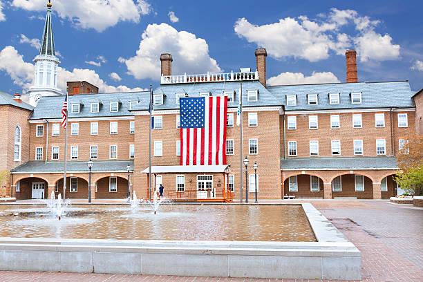 Alexandria City Hall, Virginia. stock photo